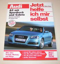 Reparaturanleitung Audi A3 Modelle 8P / 8PA mit Sportback und Cabrio - ab 2003!