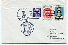 1965 USS Staten Island AGB-5 Polar Antarctic Cover