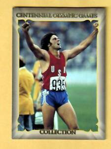 1996 Collect-A-Card Centennial Olympic Games Collection 1-120 Bruce Jenner B2