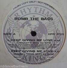 "Bomba el bajo ~ mantenga que me da amor ~ 12"" de un promo"
