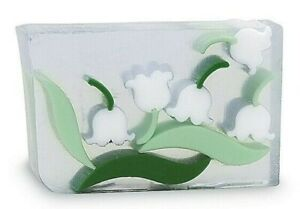 Primal Elements LILY OF THE VALLEY Full 7.0 oz+ not 6.0 Handmade Glycerin Soap