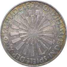 SILVER - WORLD Coin - 1972 Germany 10 Mark - World Silver Coin *578