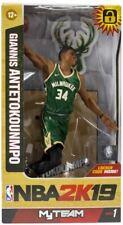 McFarlane NBA 2K19 Giannis Antetokounmpo Milwaukee Bucks Action Figure