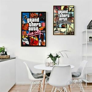 Art Wall Vintage Canvas Print Painting Poster Picture For Room Home Decoration