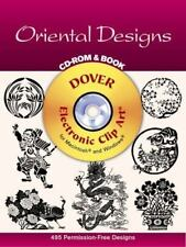 Oriental Designs CD-ROM and Book [Dover Electronic Clip Art] [ Dover Publication