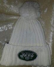 New York NY Jets Rhinestone Bling Knit Ladies Beanie Cap ~NEW~
