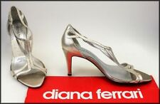 Diana Ferrari Open Toe Slim Heels for Women