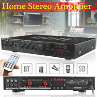 220V HIFI bluetooth 300W+300W+120W 5CH Amplifier Stereo AV Surround Karaoke Home