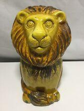 Metlox Lion Cookie Jar Marked MADE IN Poppytrail CALIF