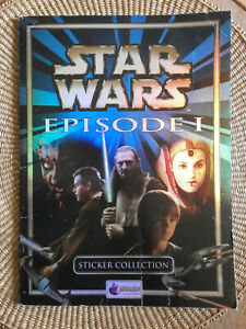 Star Wars Episode 1 - Album Stickers Merlin - La Menace Fantôme 153 images