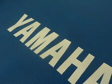 SEAT COVER YAMAHA DT 125 / DT175, BLUE FREE SHIPPING WORLDWIDE
