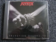 Accept-Objection Overruled CD-1993-Germany-Heavy Metal-74321 12466 2