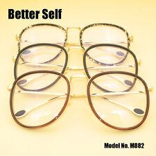5b727a00a7 Retro Vintage Eyeglasses Frame Deisgner Glasses Large Men Women Fashion  Eyewear