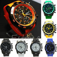 NEW Stainless Steel Luxury Sport Analog Quartz Modern Men Fashion Wrist Watch