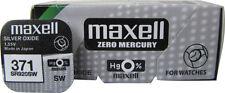 2 x Maxell 371 370 Silver Oxide SR920SW  SR60 AG6 1.55V Watch Battery