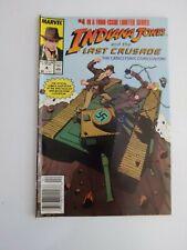 Indiana Jones and The Last Crusade #4 1989 Marvel Comics