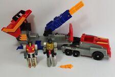 Action Master Transformers G1 Optimus Prime Snarl Grimlock 1990 Hasbro Vintage