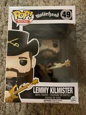 Funko! Pop Vinyl Figure Lemmy Kilmister #49 - Motorhead