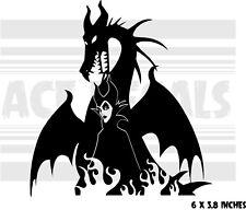 Maleficent - Dragon - Sleeping Beauty - Car laptop vinyl decal sticker