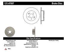 C-TEK Standard Disc Brake Rotor-Preferred fits 1988-1991 Subaru XT  C-TEK BY CEN