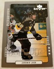 2000-01 Upper Deck MVP Third Star Pittsburgh Penguins Jaromir Jagr  #143