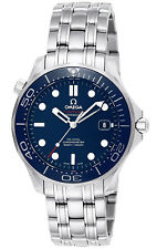 21230412003001 | BRAND NEW AUTHENTIC OMEGA SEAMASTER BLUE DIAL 41MM MEN'S WATCH
