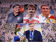 4x Signé Photos Stefan Kuntz Vfl Bochum 1.FC Kaiserslautern DFB Neuf