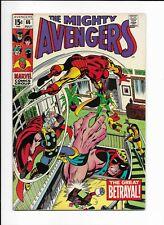 THE AVENGERS #66 ==> FN/VF 1ST ADMANTIUM MARVEL COMICS 1969