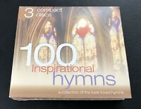 100 Inspirational Hymns 3 CDs 2003 Madacy Entertainment Group Brand New Sealed