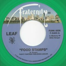 Leaf - Food Stamps / How Do I Know - Funk Drum Breaks 45 Hear!