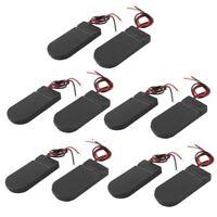 10 Stueck EIN/ AUS-Schalter 2 x 3V CR2032 Knopfzelle Batterie Halter fuer LED