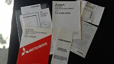 Vintage Guide Manuals Mitsubishi Tv Cs-1954R, Cs1346R/1946R/Cs-13101/2- Cs20101/2