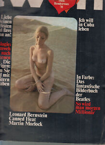 TWEN 1969 Jahrgang Einzelhefte Nr. 1-10 = 10 Twen Hefte KULT Lennon,Beatles u.a.
