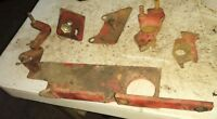 Farmall 706 tractor throttle brackets misc parts 706 gas 806 IH
