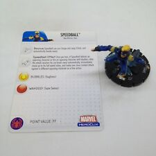 Heroclix Secret Invasion set Speedball #038 Rare figure w/card!