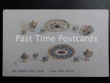 Vintage Tucks PC - The Queen's Dolls House, China Coffee Serivice