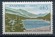 TIMBRE ANDORRE FRANCE NEUF  N° 162  *  LAC D ENGOLASTERS A ENCAMP