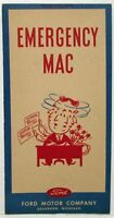 1946 Ford Emergency Mac Promotional Sales Brochure to Dealers