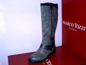 Marco Tozzi 2-25602-21 Stiefel Stiefeletten Damenschuhe grau 37-42 Neu29