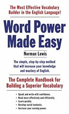 Word Power Made Easy: The Complete Handbook for Building a Superior Vocabulary-N