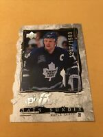 Mats Sundin 98-99 Upper Deck Profiles Quantum Card 1247/1500