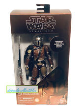 "Star Wars Black Series Carbonized Mandalorian 6"" Figure Exclusive Brand New HTF"