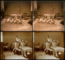 16 Stereoviews classic Nude Women in Paris 1905 Jules Richard from Glass-Plate 5