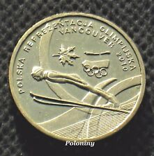 COIN OF POLAND - 2010 WINTER OLYMPIC GAMES VANCOUVER CANADA (MINT)