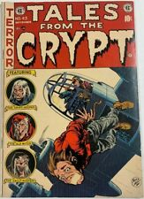 TALES FROM THE CRYPT #43 (1954) VG/FN 5.0  GOLDEN AGE EC HORROR!