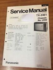 Panasonic TV  Service manual TX-2461 U5W chassis