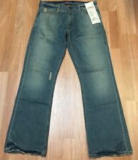 Levis Jeans Distressed Denim Limited Edition RED Collection Men Size 34 X 32 NEW
