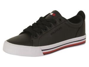 Tommy Hilfiger Little/Big Boy's Heritage Black Sneakers Shoes