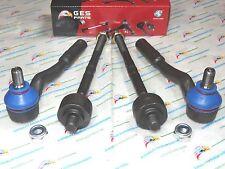 Benz W211 E320 E350 E500 E550 NEW 4PCS Front Tie Rod Ends Inner & Outer