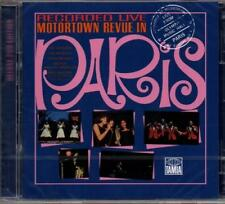 MOTORTOWN REVUE LIVE IN PARIS Various Artists NEW & SEALED 2X CD MOTOWN 60s SOUL